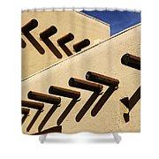 Adobe Designs Shower Curtain