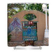 Adobe Wall Chimayo  Shower Curtain