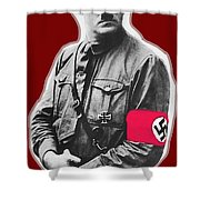 Adolf Hitler Crossed Hands Circa 1934-2015 Shower Curtain