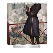 Adolfo Best-maugard Shower Curtain