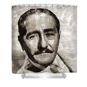 Adolphe Menjou, Actor Shower Curtain