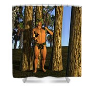 Adonis At Sunset Shower Curtain