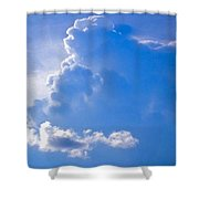 Adoration Of The Heaven Above Shower Curtain