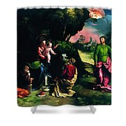 Adoration Of The Magi 1520 Shower Curtain