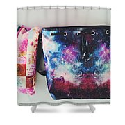 Adore The Colors Shower Curtain
