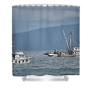 Adriatic Star And Ryan D Shower Curtain