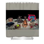 Adventure Novel Shower Curtain