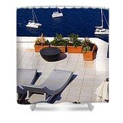 Aegean Wonderland Shower Curtain