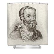 Aelius Galenus Or Claudius Galenus Shower Curtain
