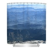 Aerial Landscape Shower Curtain