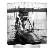 Aerial Torpedo, 1915 Shower Curtain