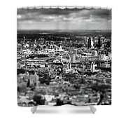 Aerial View Of London 6 Shower Curtain