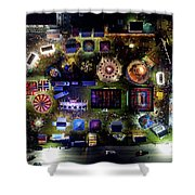Aerial View Of Norco Fair - Pottstown Pa Shower Curtain