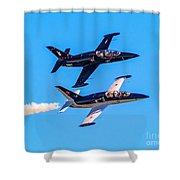 Aero L-39c Albatros Jet Trainers Shower Curtain