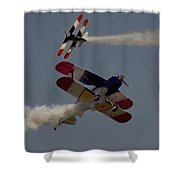 Aerobatics  V5 Shower Curtain