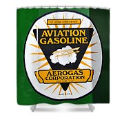 Aerogas Green Pump Shower Curtain