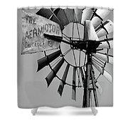 Aeromotor Shower Curtain