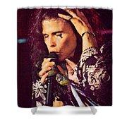 Aerosmith-94-steven-1192 Shower Curtain