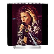 Aerosmith-94-steven-1192 Shower Curtain