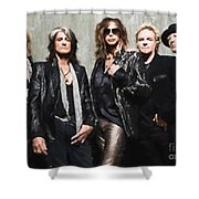 Aerosmith Shower Curtain