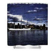 Af Chapman Color Shower Curtain