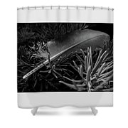 Afeather Shower Curtain