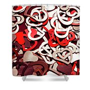 Affection Reflection Shower Curtain