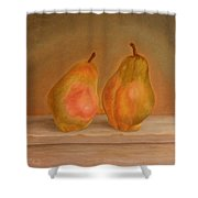 Affinity Pears Shower Curtain