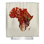 Africa 1b Shower Curtain