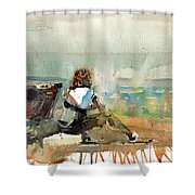 Africa Beyond The Frame Shower Curtain