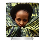 Africa Diasporan Shower Curtain
