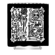 Africa Mia Shower Curtain