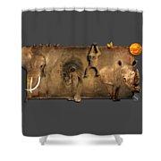 Africa No 02 Shower Curtain