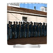 African American Troops In Us Civil War - 1965 Shower Curtain