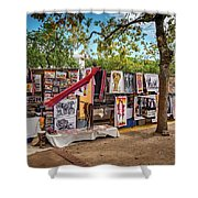 African Art For Sale Shower Curtain