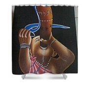 African Culture Shower Curtain