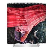 African Damsel Shower Curtain