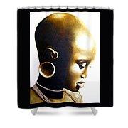 African Lady - Original Artwork Shower Curtain