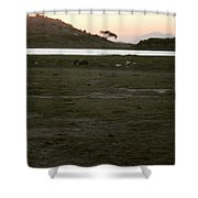 African Lake Shower Curtain