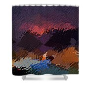 African Landscapes Shower Curtain