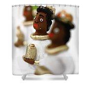 African Wise Men Shower Curtain by Gaspar Avila
