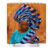 African Woman 5 Shower Curtain
