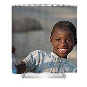 Africa's Children Shower Curtain