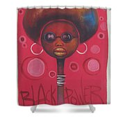 Afro American Women Shower Curtain