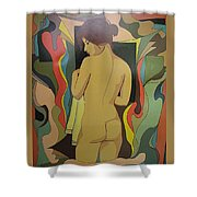 After Bath Shower Curtain