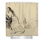 After Douai Shower Curtain