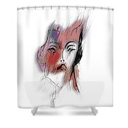 After Party Shower Curtain