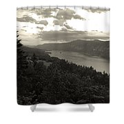After Sunset On The Columbia Shower Curtain