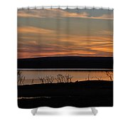 After Sunset Shower Curtain