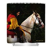 After The Battle Shower Curtain